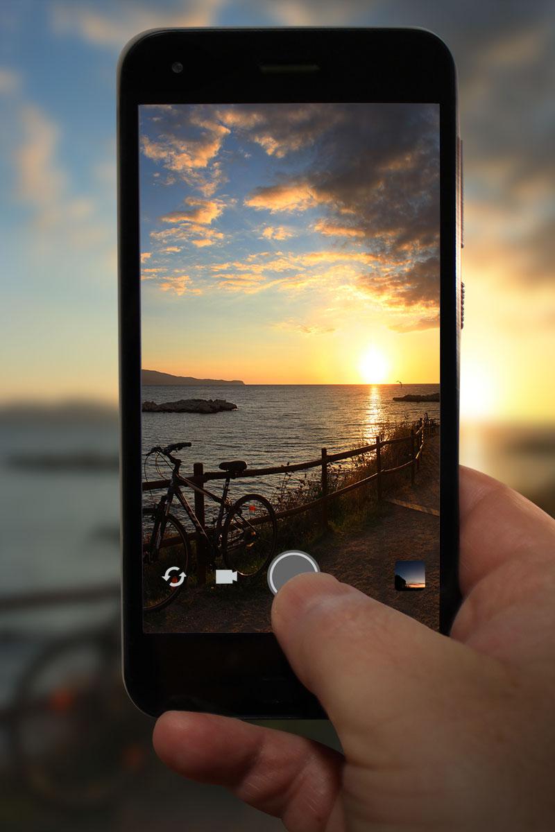 foto amb mòbil